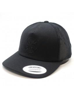 Independent black Trucker Cap