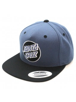 SANTA CRUZ Classic Blue/Black Cap