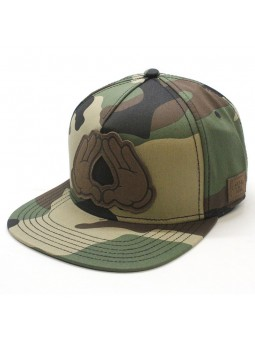 Dynasty Lux Cayler & Sons snapback camuflage Cap