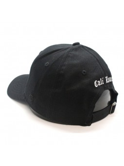 Gorra Cali Love Cayler & Sons curvada negra