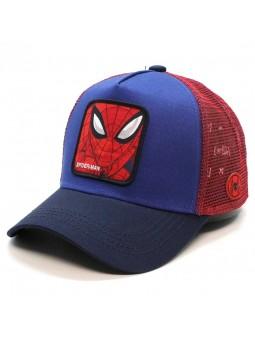 Gorra de rejilla SPIDERMAN Marvel marino/rojo