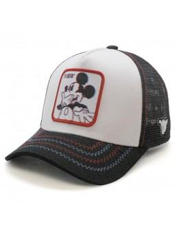Gorra de rejilla MICKEY MOUSE Disney Blanco/Negro
