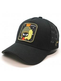 Gorra de rejilla MARVIN el MARCIANO Looney Tunes negro