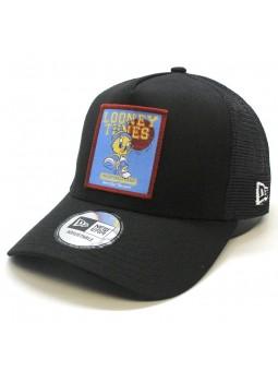 Gorra Piolin Looney Tunes NBA New Era trucker negro