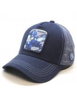 Gorra Megaman de Capcom Capslab trucker negro