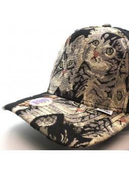 Gorra de rejilla DJINNS  HFT CAT 2 negro