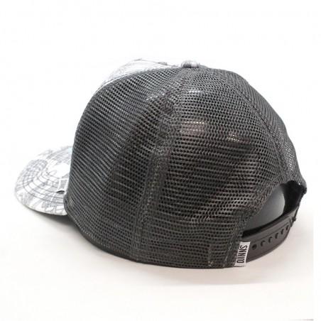 Gorra de rejilla DJINNS HFT WLU Birdcage (jaulas con pajaros) gris