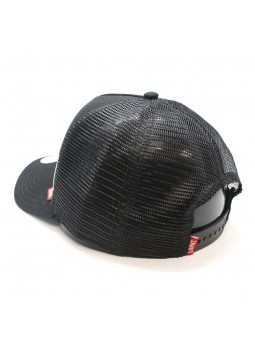 Gorra de rejilla DJINN'S HFT Bombing negro