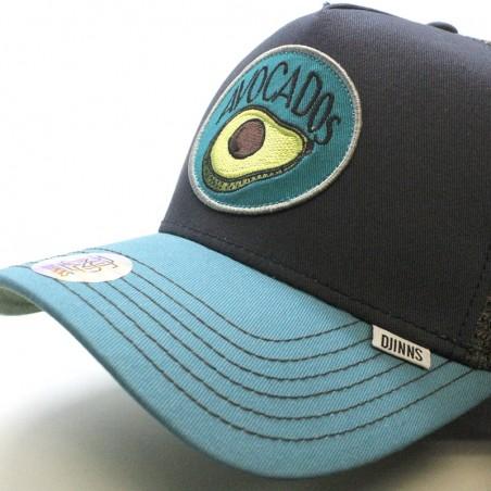 DJINNS Trucker HFT Food Avocado navy/blue cap