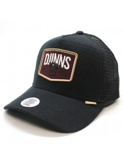 Gorra de rejilla DJINNS HFT Nothing club sucker negro