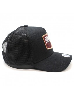 Gorra de rejilla DJINNS HFT Nothing club sucker negro
