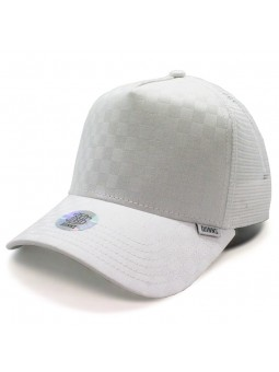 DJINNS Trucker HFT Tie Chess white cap