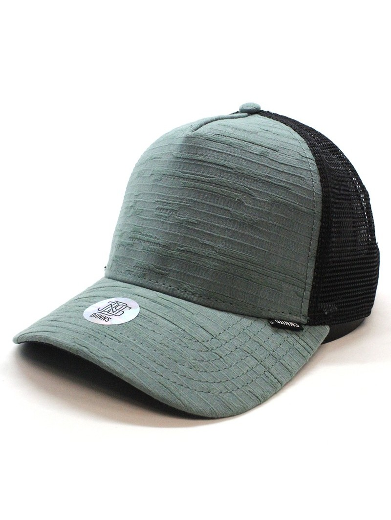DJINNS Trucker HFT Big Seer green/black cap