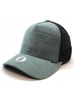 Gorra de rejilla DJINNS HFT Big Seer verde/negro
