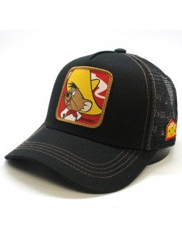 Speedy GONZALES Looney Tunes black Trucker Cap