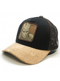 Gorra de rejilla GROOT Marvel Guardianes de la GALAXIA negro