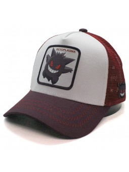 Ectoplasma Pokemon Capslab trucker white burgundy Cap