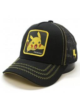 Pokemon Cap with Pikachu patch Capslab black