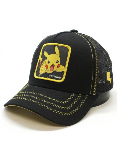 Gorra de rejilla Pokemon Pikachu parche Capslab