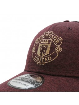 Gorra Manchester United Stretch 39Thirty New Era burdeos