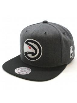Atlanta Hawks NBA EU944 Mitchell and Ness gray snapback Cap