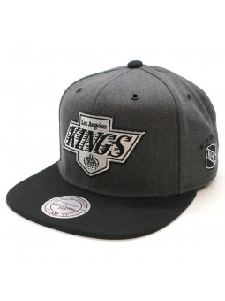 Los Angeles Kings NHL EU944 Mitchell and Ness gray snapback Cap