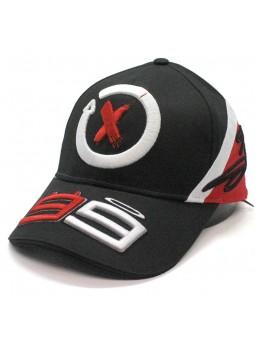 Gorra Jorge Lorenzo 99 X MotoGP negro rojo