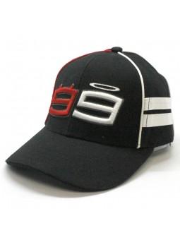 Gorra de Niño Jorge Lorenzo 99 MotoGp negro
