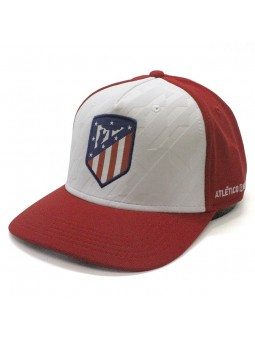 Gorra Atletico de Madrid blanco rojo