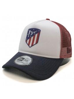 Atlético de MADRID new era white/red/navy trucker Cap