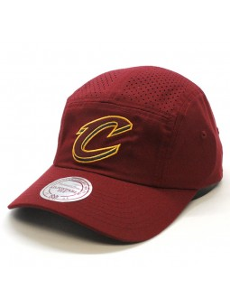 Cleveland Cavaliers NBA Perf Fade Camp 5 panel Mitchell and Ness Cap