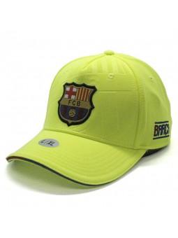 Gorra FCB Barça Soccer amarillo fluorescente