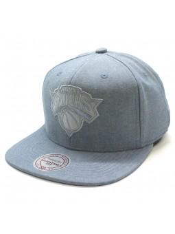 New York Knicks NBA Italian Wash Mitchell and Ness light blue Cap