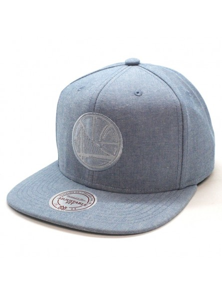 Warriors NBA Italian Wash Mitchell and Ness light blue Cap