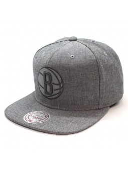 Brooklyn Nets NBA Italian Wash Mitchell and Ness gray Cap