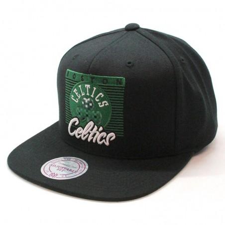 Gorra Boston Celtics NBA VV27Z Mitchell and Ness negro snapback