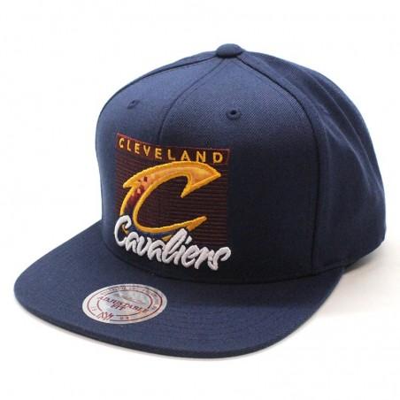 Cleveland Cavaliers NBA VV27Z Mitchell and Ness blue navy snapback Cap