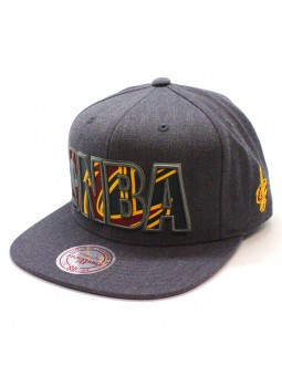 Gorra Cleveland Cavaliers NBA Insider Mitchell and Ness gris snapback