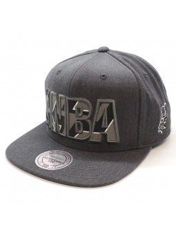 San Antonio Spurs NBA Insider Mitchell and Ness gray snapback Cap