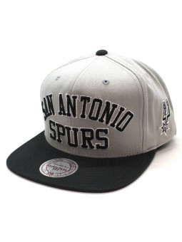 San Antonio Spurs NBA Wordmark Mitchell and Ness snapback Cap