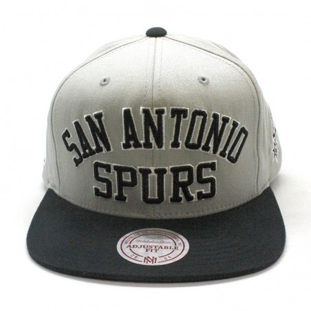 San Antonio Spurs NBA Wordmark Mitchell and Ness snapback Cap