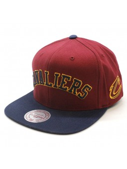 Cleveland Cavaliers NBA Wordmark Jersey Mitchell and Ness Cap