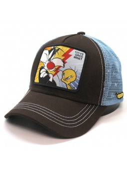 Tweety and Silvester Looney Tunes Capslab brown blue Cap