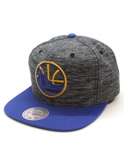 Gorra Golden State Warriors NBA Intl 006 Mitchell and Ness gris azul