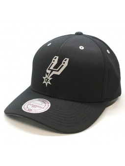 San Antonio Spurs Poly Lo Pro Mitchell and Ness Cap