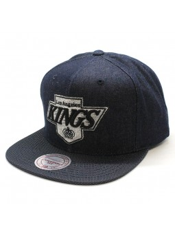 Gorra Los Angeles Kings NHL R. Denim Mitchell and Ness tejano