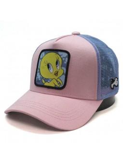 Gorra Piolin Looney Tunes rosa Capslab