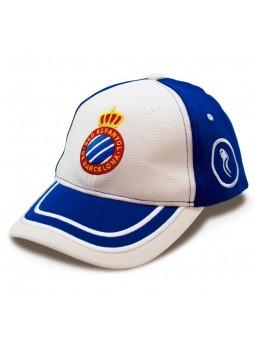 Gorra RCD Espanyol Blanco Royal