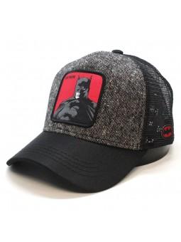 Gorra de rejilla BATMAN gris oscuro