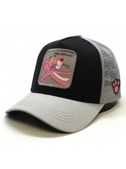 PINK PANTHER black/grey trucker Cap